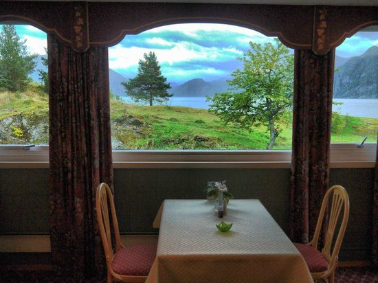 Sognefjord Hotel: A Breakfast View