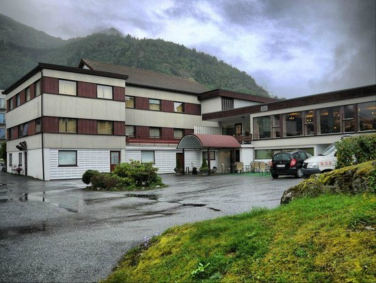 Sognefjord Hotel: From the Main Entrance.and Upper Level.