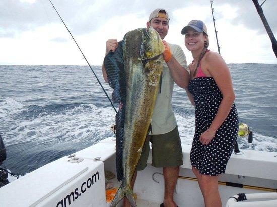 Costa Rica Dreams Sportfishing: Bull Mahi