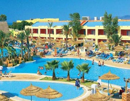 Borj Cedria, Tunisia: Hotel Exterior