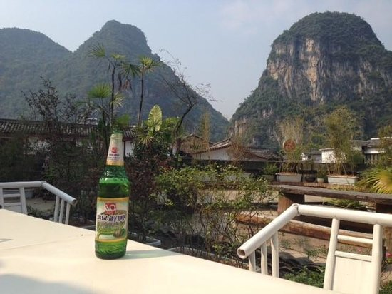 Travelling With Hostel: View from the hostel terrace