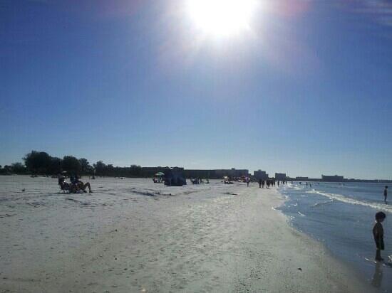 Beach Club at Siesta Key: la playa