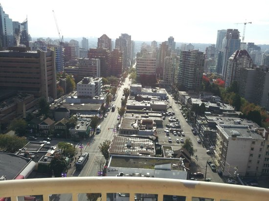 Sandman Suites Vancouver - Davie Street: view from room