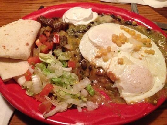 Buen Tiempo Restaurant & Cantina: Huevos Rancheros
