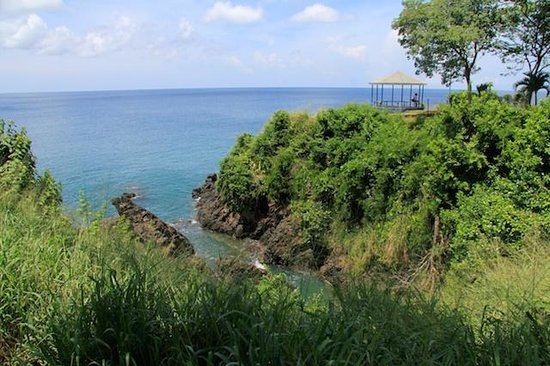 Black Rock, Tobago: From Fort Bennett