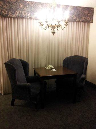 River Terrace Inn : Inside room