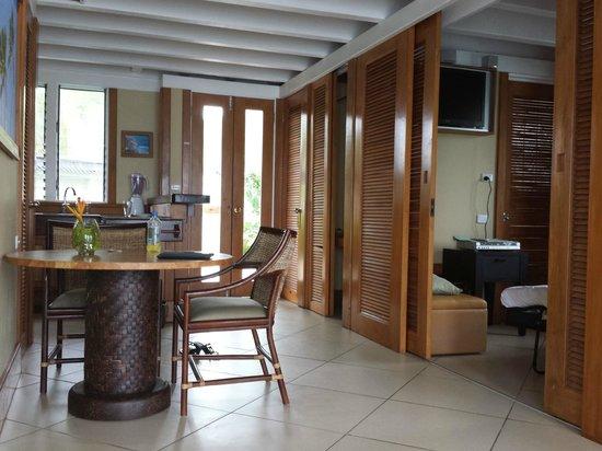 Koro Sun Resort and Rainforest Spa: Inside the Edge Water main room