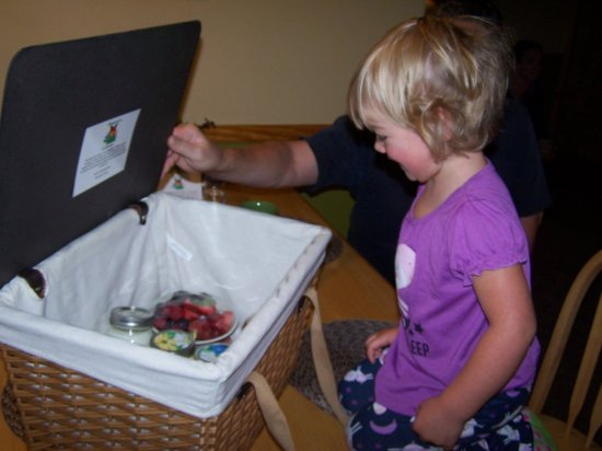The Butterfly Garden Inn: Opening the picnic basket