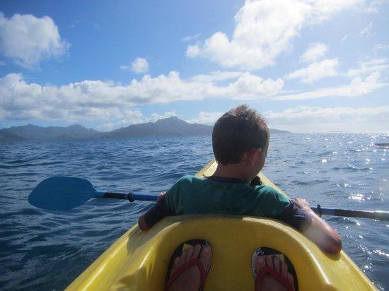 Sunset Beach Motel Kayaking