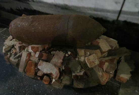 German National Museum of Contemporary History : WWII bomb found in Rhine River near Bonn, Germany