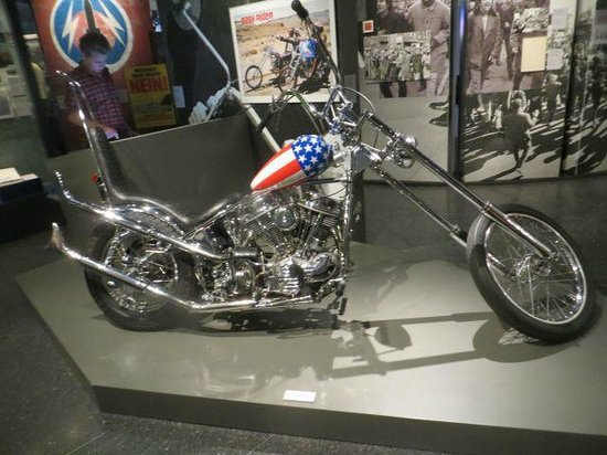 German National Museum of Contemporary History : Easy Rider Motorcycle