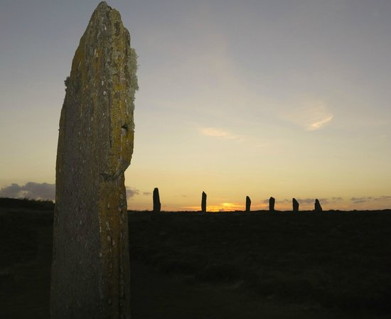 Buxa Farm Chalets & Croft House: Ring of Brodgar, 10 minutes from Croft House
