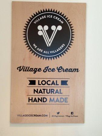 Village Ice Cream : The Best Ice Cream !