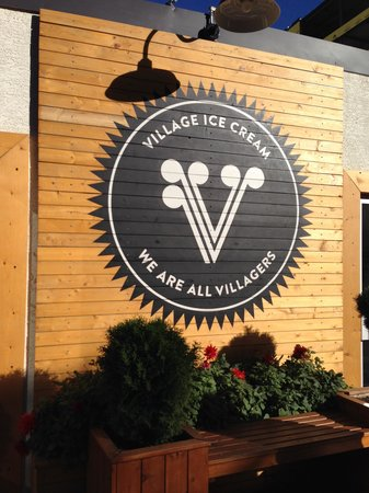 Village Ice Cream: Our favorite place