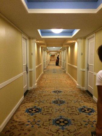 โรงแรมแบลลีส์ ลาส เวกัส แอน คาสิโน: Hallway