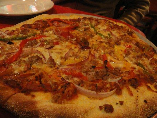 Two Boots - Grand Central: Pizza riquísima en Two boots