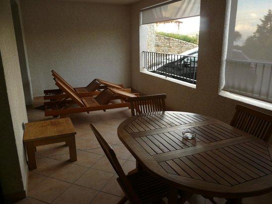Kalliste Hotel Residence: balcon