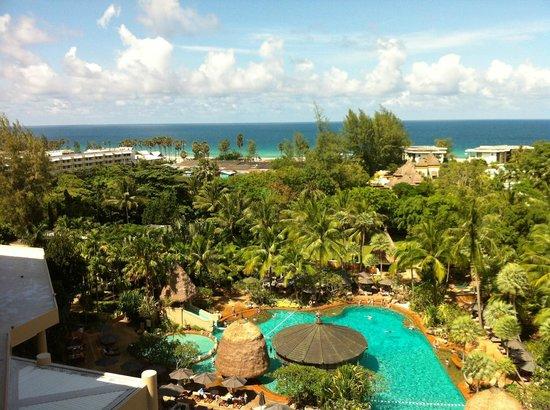 โมเวนพิค รีสอร์ท แอนด์ สปา กะรนบีช ภูเก็ต: View from Ocean View room