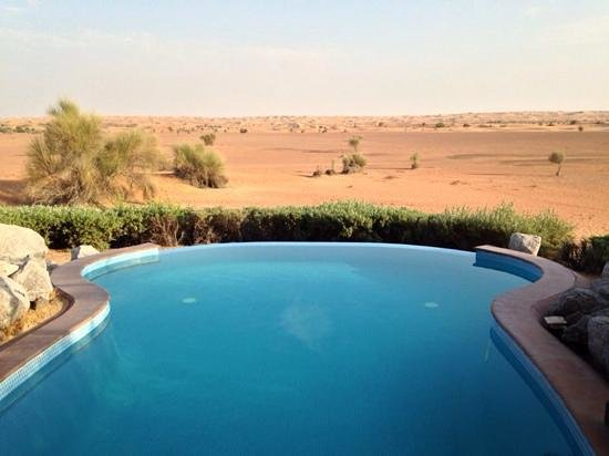 Al Maha, A Luxury Collection Desert Resort & Spa: scenery from the room