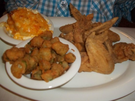 Soooo Yummy!( Not greasy soul food!) My Plate! - Picture of Mary ...