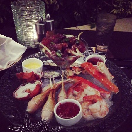 Duo Steak & Seafood: Sea food platter