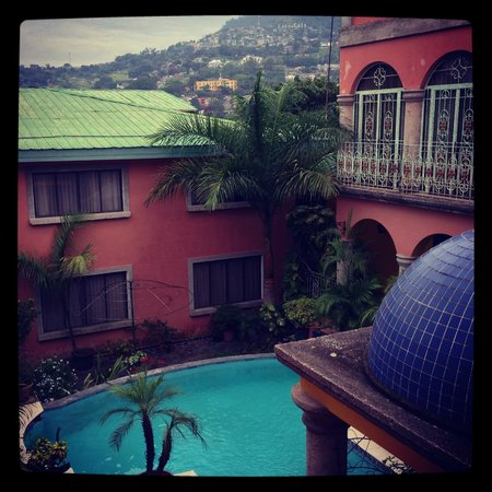 Hotel Portal del Angel: Vista de la habitación