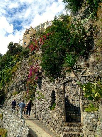 Discover Positano - Daily Tour : walk to the Saracen tower!