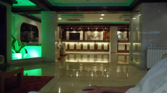 Hotel Regina: desk