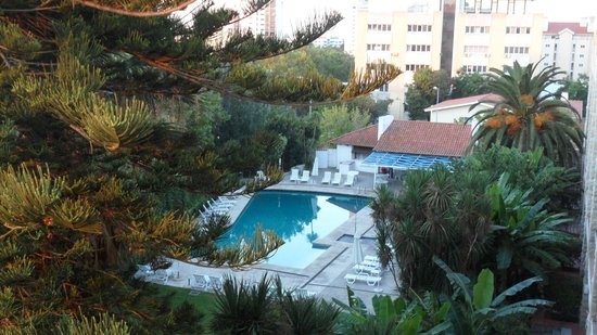 Hotel Cidadela: jardin vue de la chambre