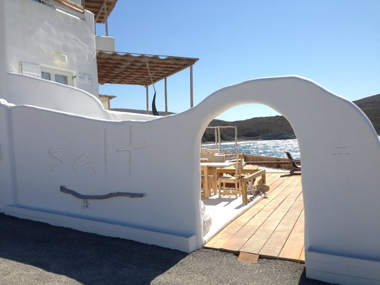 Salt Suites & Executive Rooms: Entrance to Salt