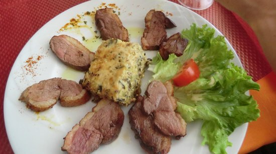 Les Pinedes: ducks breast