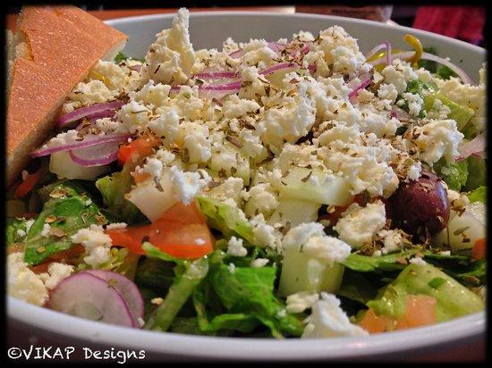 The Bistro: The Big Greek Salad