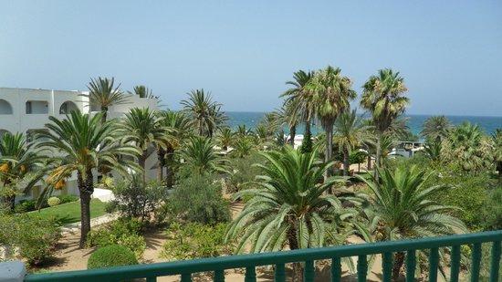 El Mouradi Port El Kantaoui : Vue chambre balcon