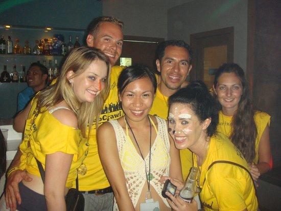 Frendz Resort Boracay: Boracay Pub Crawlers!