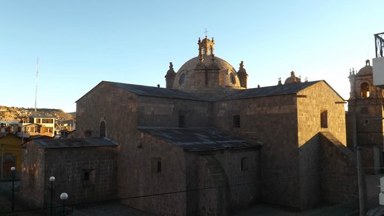 Conde de Lemos: Vista desde la habitacion de dia