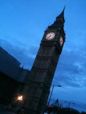 Excursion UK: Big Ben, visto en los tours: