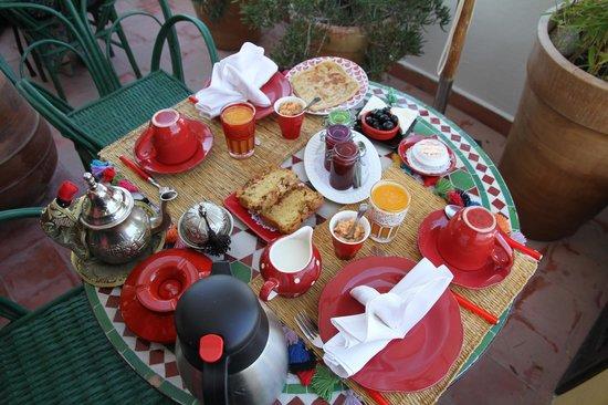 Dar Sultan: Breakfast