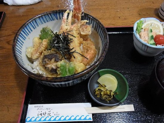 Okesho Fresh Fish Kaichuen: カニ天丼