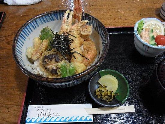 Okesho Fresh Fish Kaichuen: カニ天丼