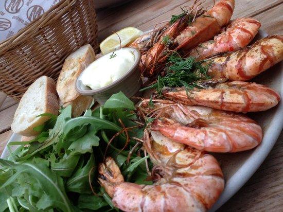 Wildwood Kitchen: Grilled prawns YUMMMM!!