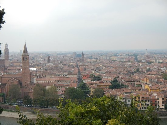 Camping Castel San Pietro: vu le matin