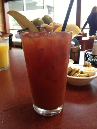 Glacier Rock Restaurant: Bloody Mary