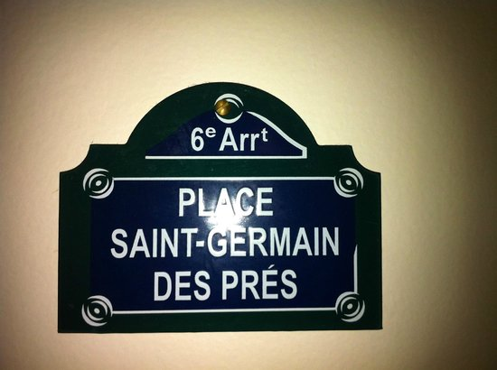 Courcelles-Parc : Zimmername - Strassenamen statt Nummern