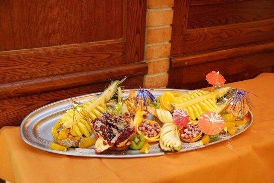 Ristorante Casa Mia : Anche la frutta deve avere il suo bell'aspetto.