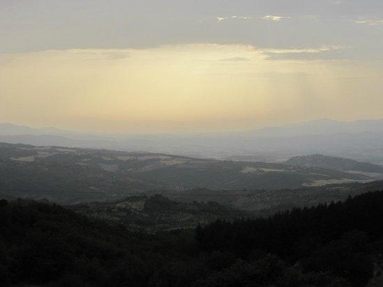 Ristorante La Scottiglia: Il panorama