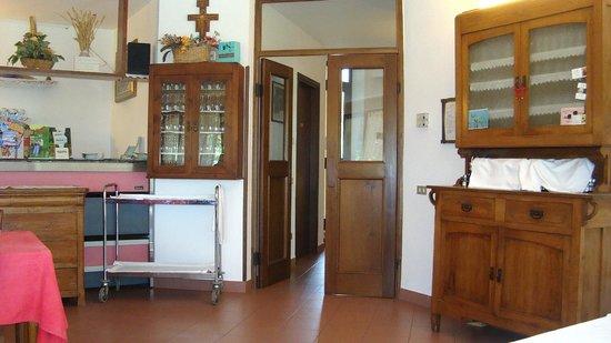 ingresso per bagno e cucina - Foto di Agriturismo la Quiete ...