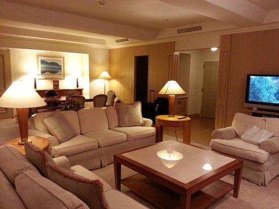 Hotel Mystays Premier Sapporo Park: リビングルーム
