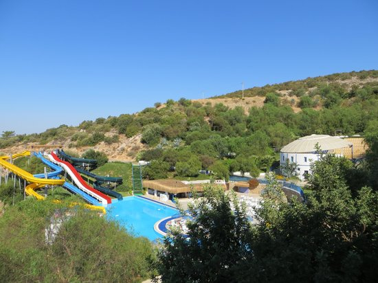 Bodrum Holiday Resort & Spa : Pool med vandrutsjebaner