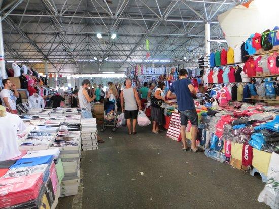 Bodrum Holiday Resort & Spa: Tekstilmarked i Bodrum