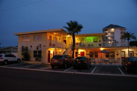 Silver Sands Motel : Silver Sands Mai-Juni 2012 / Zimmer: Unten links 1,2,3 oben rechts 8